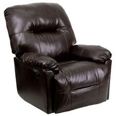 Brown recliner AM-C9350-9075-GG