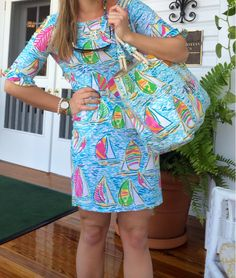 You can never wear too much Lilly Pulitzer. I love this outfit. You Gotta Regatta is my favorite pattern(: