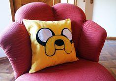adventure time jake pillow almofada jake pattern jake cushion felt jake sewing craft jake