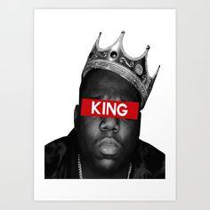 Biggie Smalls Art Print by Creative Threads Arte Do Hip Hop, Hip Hop Art, Tupac Wallpaper, Hip Hop Quotes, Biggie Smalls, Trust, Rap Music, Small Art, Eminem