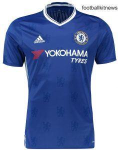 Photo1  Chelsea 2013-2014 Home Shirt adidas - Football Shirts 4f8069e12