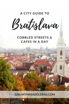 Discover the capital of Slovakia, Bratislava, on a day trip. Bratislava packs charming cobbled streets, castles, fantastic food and monumental architecture into a compact but beautiful city centre. My city guide and travel tips show you what to do in Bratislava and how to make the most of a few hours in this vibrant central European beauty.