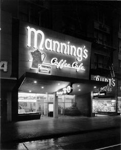 Manning's Coffee Cafe, San Francisco, 1954 | by San Francisco Public Library