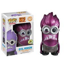 Funko Metallic Evil Minion, Despicable Me 2, Meu Malvado Favorito, SDCC Exclusive, Minions, Cartoon, Funkomania