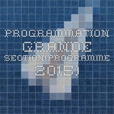 programmation grande section(programme 2015)                                                                                                                                                      Plus