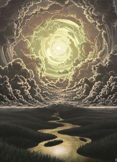 Post with 4967 votes and 78912 views. Shared by My Favorite Fantasy Artwork Psychedelic Art, Digital Art Illustration, Visionary Art, Fantasy Landscape, Surreal Art, Art Inspo, Pixel Art, Concept Art, Cool Art
