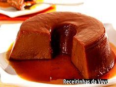 Veja a receita: Pudim de chocolate cremoso