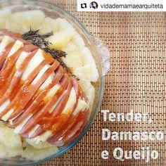 A @vidademamaearquiteta fez o tender com queijo brie e geleia de damasco que dei no workshop da @lgdobrasil a foto ficou