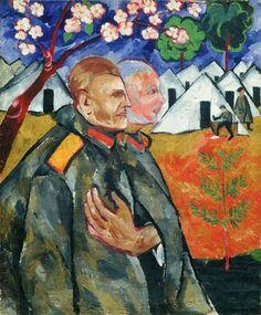 Larionov by Goncharova, 1911