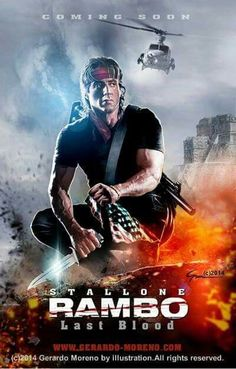 Rambo: Last Blood (also known as Rambo V, and Rambo V: Last Blood is an upcoming American action thriller film directed by Adrian Grunberg and written by Matt Cirulnick and Sylvester Stallone. Movies 2019, Hd Movies, Film Movie, Movies To Watch, Movies Online, Movies And Tv Shows, Silvester Stallone, Films Hd, John Rambo