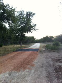 One cattle guard installed.  There is a lot of work yet to be done, but we get closer every day.