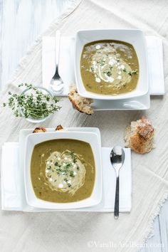 Coconut Curried French Lentil Soup (Vegan) | Vanilla And Bean