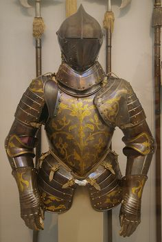 Foot-Combat Armour of Prince-Elector Christian I of Saxony Helmet Armor, Suit Of Armor, Medieval Knight, Medieval Armor, King Of Swords, Combat Armor, Foam Armor, Landsknecht, Knight Armor