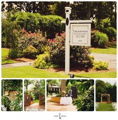 """A huge """"thank you"""" to the Thompson House & Garden, Bogart, GA for a wonderful wedding venue....simply beautiful !!!  (This was our 2nd daughters wedding at this very same venue...we are repeat customers)"""