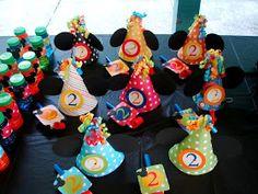 Polka Dot Birthday Supplies, Decor, Clothing: Mickey Mouse Polka Dot Party