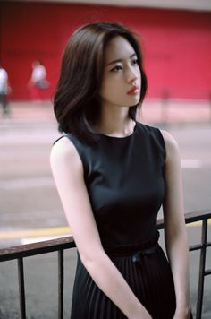 Korean Fashion Trends, Asian Fashion, Girl Fashion, Asian Short Hair, Girl Short Hair, Korean Beauty, Asian Beauty, Asian Woman, Asian Girl