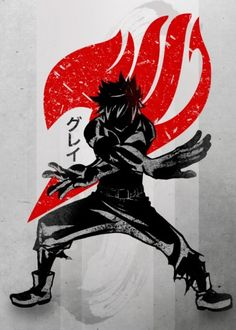 gray grey fullbuster ice make magic fairy tail fairytail sumbol crimson red cool vintage fanfreak anime manga japan japanese icemake ink inking natsu erza lucy boots hands topless male strong slayer demon dragon Fairy Tail Gray, Fairy Tail Love, Fairy Tail Nalu, Fairytail, Gruvia, Manga Anime, Anime Guys, Anime Male, Erza Scarlet