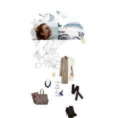 A story in images, of travel and style by dear-inge on #polyvore - #collage #art #travel #map #fashion #story