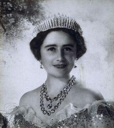 """Queen Elizabeth The Queen Mother. Adolf Hitler described her as """"the most dangerous woman in Europe""""."""