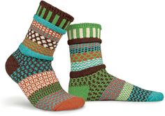September Sun Socks by Solmate Socks. American Made. See the designer's work at the 2015 American Made Show, Washington DC. January 16-19, 2015. americanmadeshow.com #socks, #americanmade