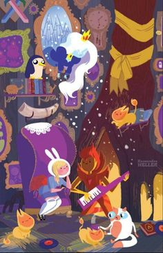 Adventure Time Comics Exclusive To San Diego Comic Con. And Other Boom Books. But Mostly Adventure Time. Fiona Adventure Time, Cartoon Adventure Time, Time Cartoon, Cartoon Shows, Marceline, Cartoon Network, Adveture Time, Story Time, 4 Panel Life
