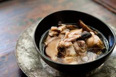Chicken Soup with Ginger and Shiitake Mushrooms Recipe | Simply Recipes