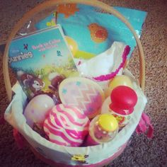Easter basket for 1 year old easter books springtime coloring easter basket for 1 year old easter books springtime coloring books and stickers peter rabbit plush toy rabbit pacifier all wrapped up in a be negle Image collections