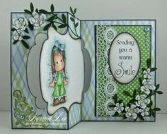 From My Craft Room: A 'Hello' Swing Card