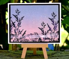 Dusk in the Prairie Garden by Plain Jane - Cards and Paper Crafts at Splitcoaststampers