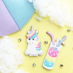 Unicorn Summer Cookie Cutter Set