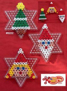 Inspiration for playing with Hama Beads Hama Beads Design, Diy Perler Beads, Perler Bead Art, Pearler Bead Patterns, Perler Patterns, Christmas Perler Beads, Pearl Beads Pattern, Art Perle, Motifs Perler