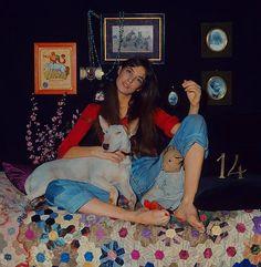 Jane Birkin// my guurl Kathleen Hanna, Gainsbourg Birkin, Serge Gainsbourg, Riot Grrrl, Dyed Hair Purple, Lilac Hair, Pastel Hair, Outfits, Style