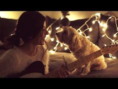 She Sings a Christmas Song To Her Dog, And It's Beautiful Beyond Words!