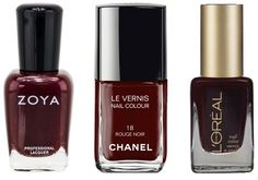 Fall nail polish trends: Oxblood reds