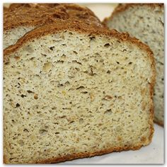 Hearty Whole Grain- 100% Whole Grain. Nice seediness in a perfectly dense bread. Makes AMAZING toast! Super high in Protein & Fiber. Absolutely delcious!    Gluten-Free  Soy-Free  Dairy-Free  Corn-Free  Nut-Free