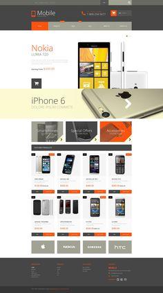 Shopify Theme , Mobile Phones
