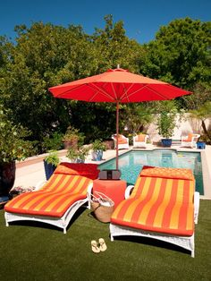 Soft Cushions, Shade and Speakers - Outdoor Entertaining Accessories on HGTV
