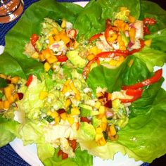 Paleo Fish Tacos with Spicy Peach Mango Salsa - our favorite!