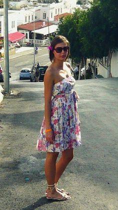 ulubioną letnią sukienkę