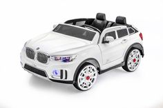 SPORTRAX BMW STYLE X7 TWO SEATER KIDS RIDE-ON CAR | WHITE