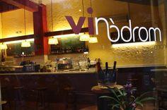 bar-bodega Vinòdrom de #Barcelona #Eixample C/TAMARIT 111, 08015  #establecimientorecomendado #tapas