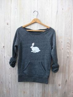 Oh My Rabbit Sweatshirt, Rabbit Sweater, Easter Gift, Bunny Shirt, S,M,L,XL