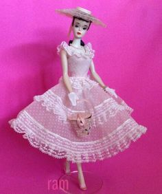 """No. 3 wearing """"Plantation Belle."""" From the collection of Rosalie A. McFarlane."""