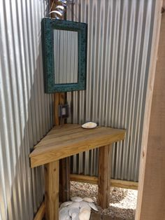 Changing Room in outside shower