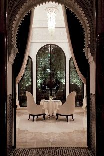 """Step Into a Palace — The New Royal Mansour Hotel in Marrakech """"The beauty of Moroccan palaces is made up of details of ornament and r..."""