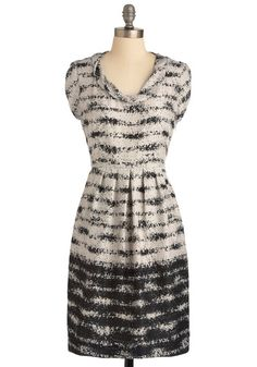 Opposites Abstract ModCloth dress... why is everything on their site so lovely?