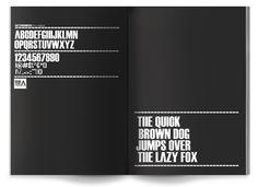 Hello Type by Fabian De Lange, via Behance