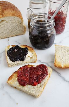 Easy Homemade Chia Seed Jam (via abeautifulmess.com) is a great way to make jam quickly and enjoy a superfood in the process!