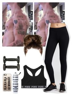"""""""Workout with harry 2"""" by mrssavannahstyles ❤ liked on Polyvore featuring HPE Clothing, Victoria's Secret and Casetify"""