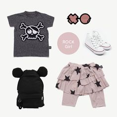 Rock Girl Look Kind Mode, Kids Wear, My Girl, Kids Fashion, How To Wear, Shopping, Clothes, Halloween, Dresses